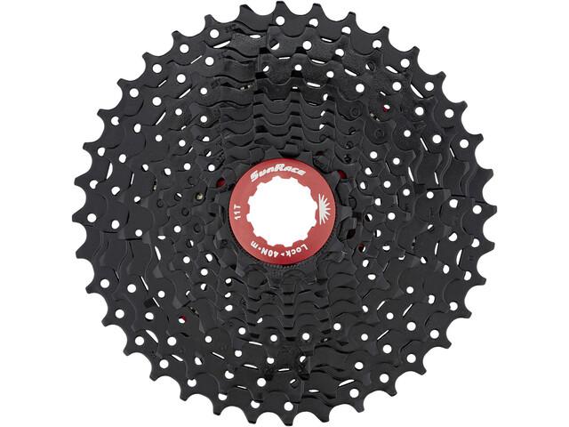 SunRace CSRX1 Kassette 11-speed, black